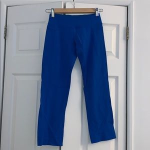 Lululemon Blue Yoga Capri